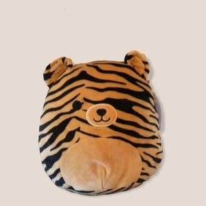 "Squishmallow Kellytoy Tina the Tiger 8"""